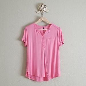 Nydj t shirt size medium pink